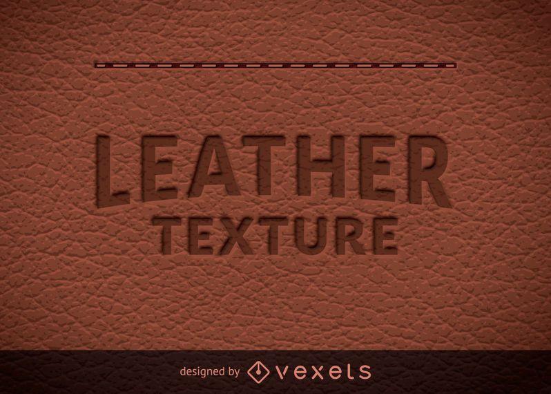Textura de couro natural