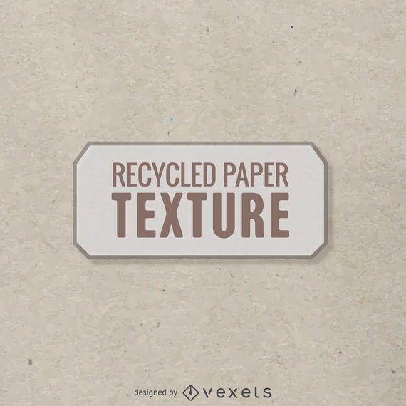 Textura de papel reciclado