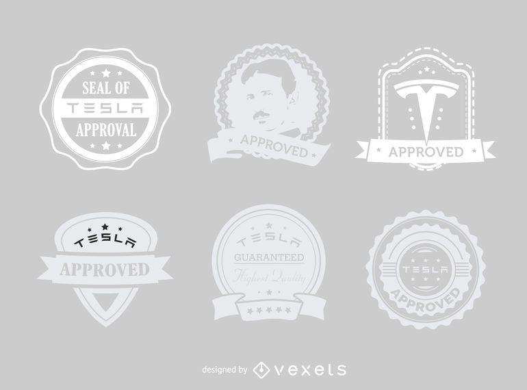Tesla aprovou conjunto de etiquetas hipster