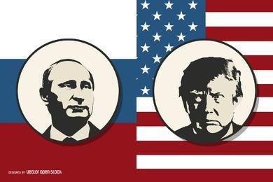 Putin vs Trump