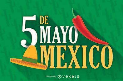 Pôster do México 5 de maio
