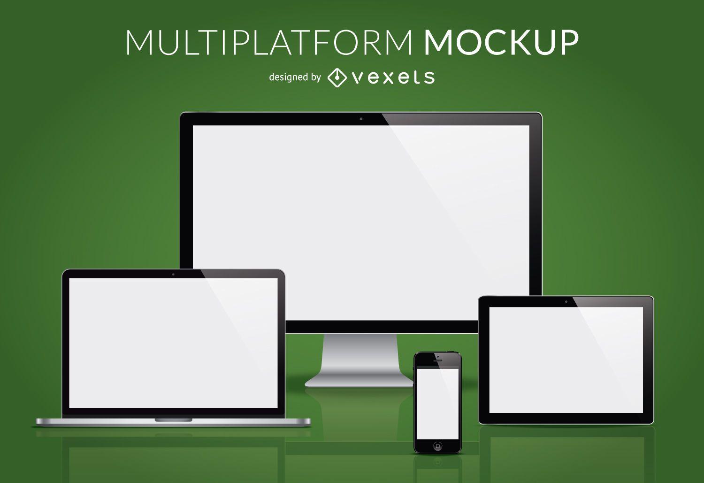 Maquete multiplataforma