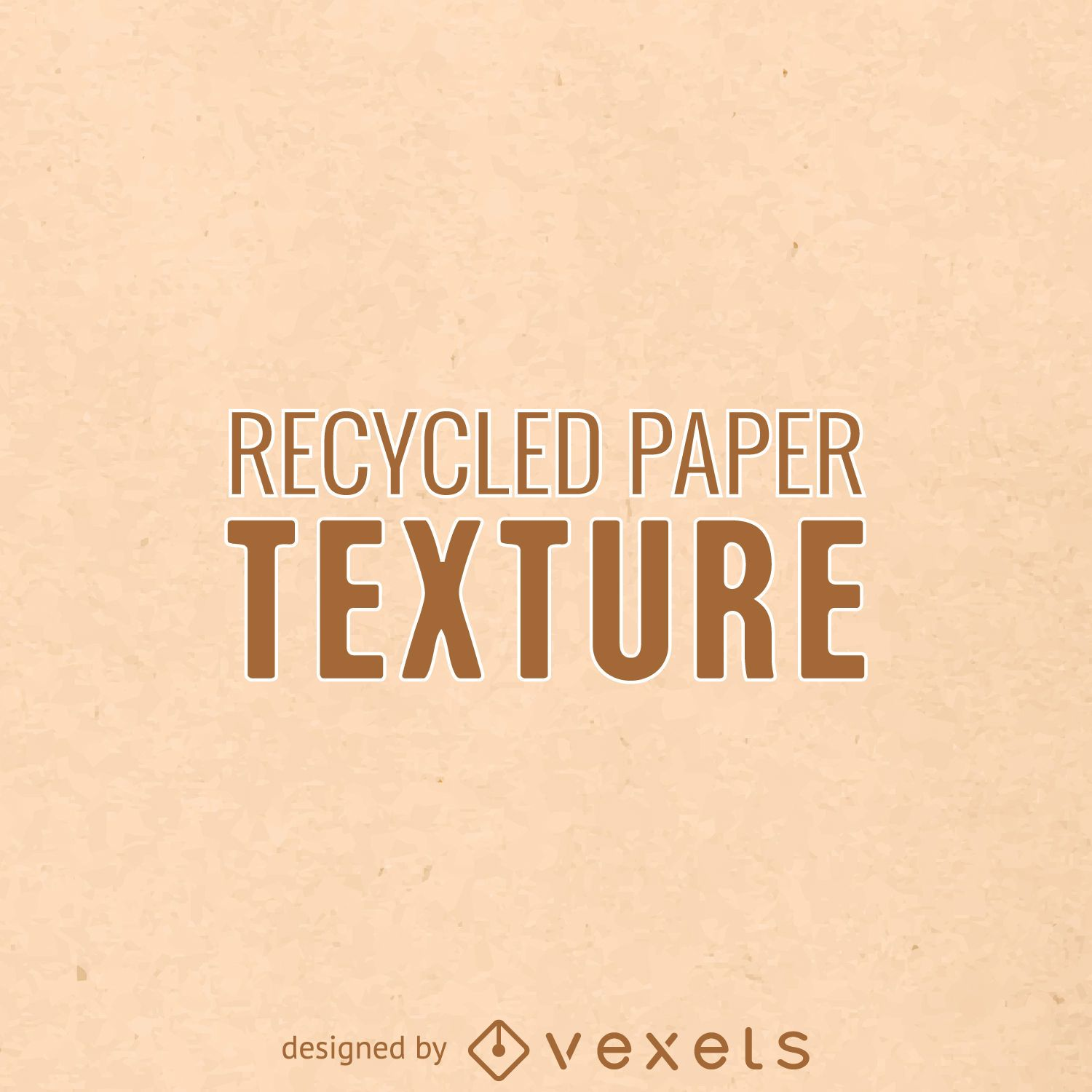 Recycled paper texture background - Vector download