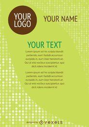 Flyer Designvorlage