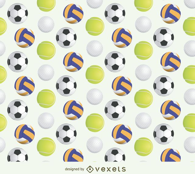 Esporte bola padrão
