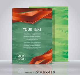 Technology flyer template
