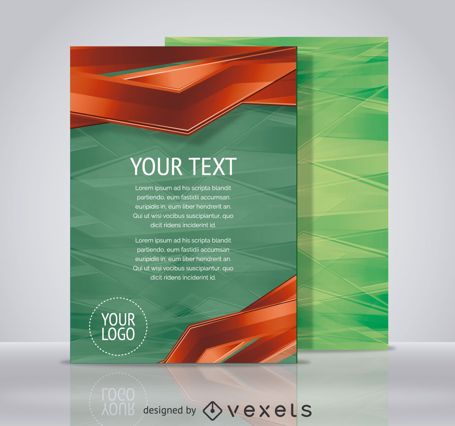 Technology Flyer Template Vector Download - Technology brochure template