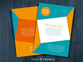 Multiple flyer template