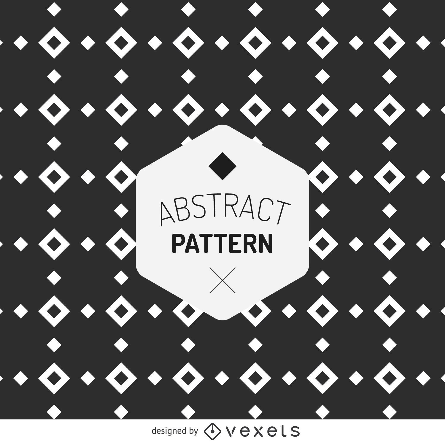 Hipster abstract pattern