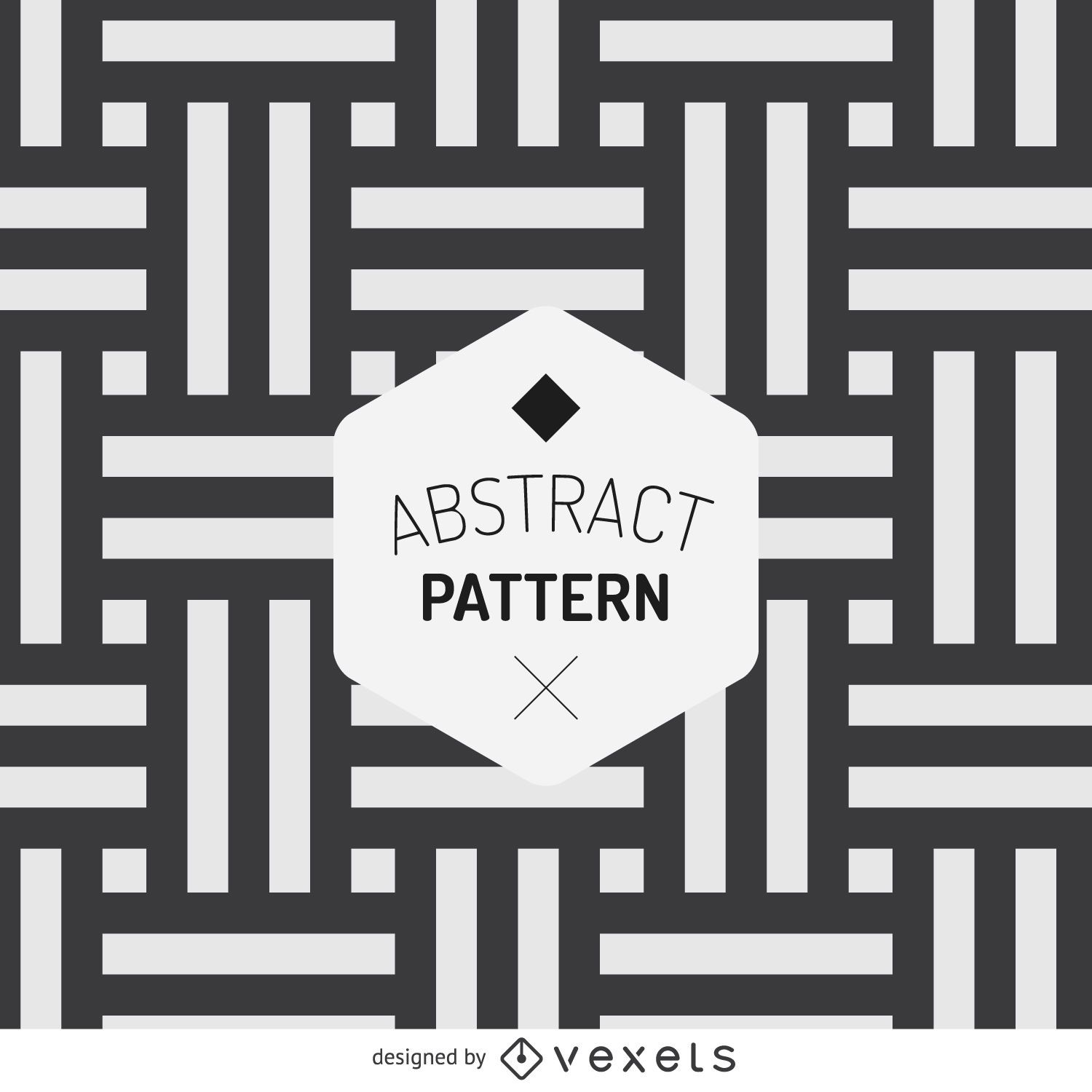 Abstract stripes pattern