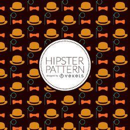 Patrón de elementos hipster