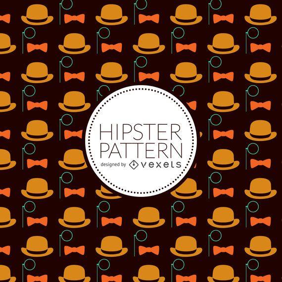 Padrão de elementos hipster