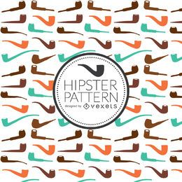 Hipster pipe pattern