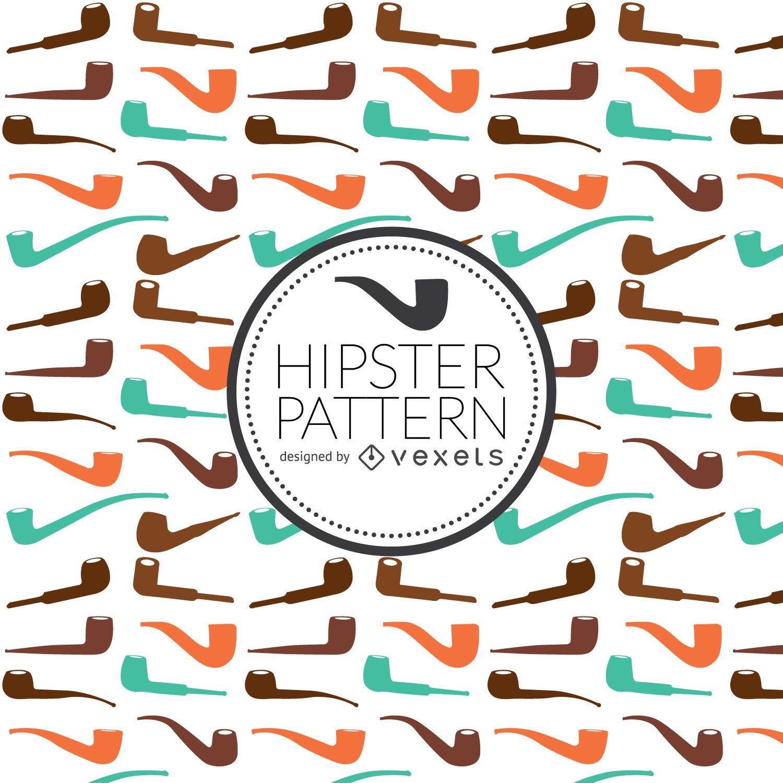 Patrón de tubería hipster