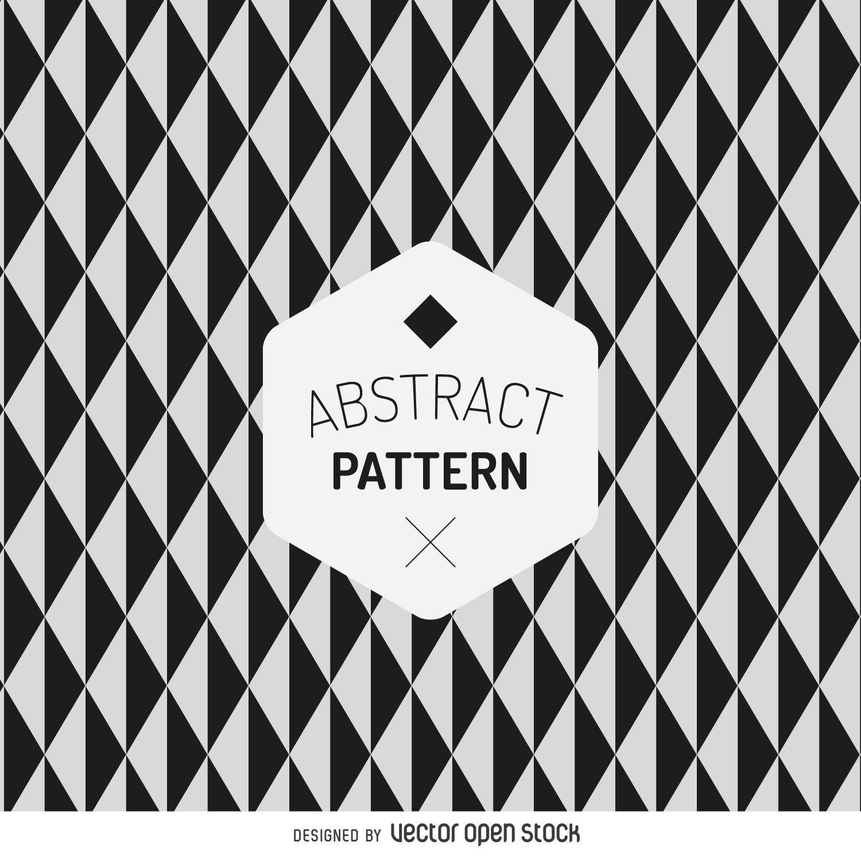 Patrón de mosaico abstracto geométrico