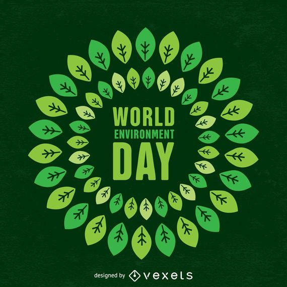 world environment day design   vector download