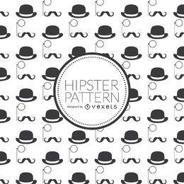 Fondo de elementos de hipster