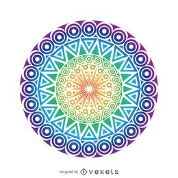 Kreis-Mandala-Design
