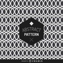 Fondo de patrón circular abstracto