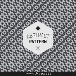 Padrão geométrico abstrato de círculo