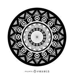 Desenho geométrico de mandala