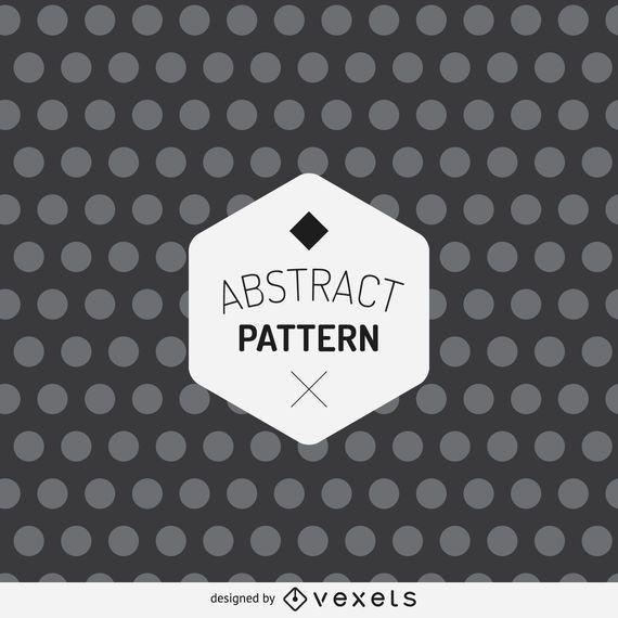 Patrón de puntos abstracto