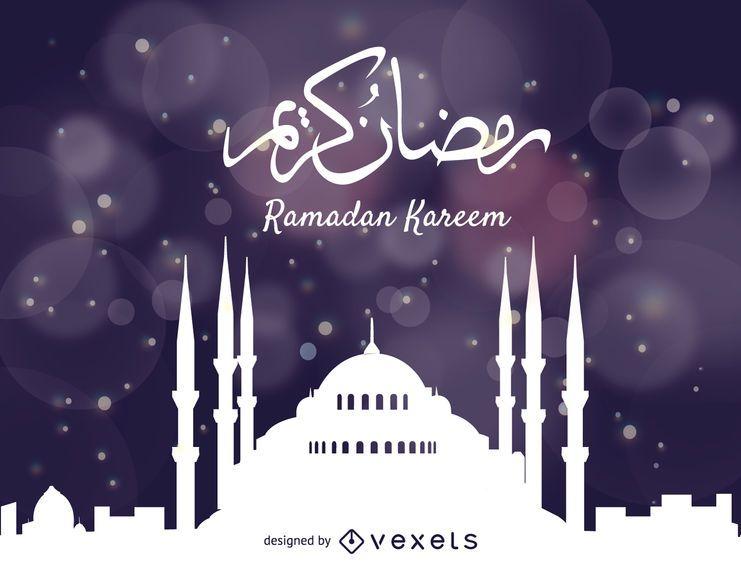 Diseño de ramadan kareem