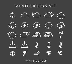 El tiempo de la colección icono