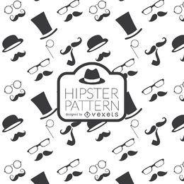 Fundo de elemento hipster