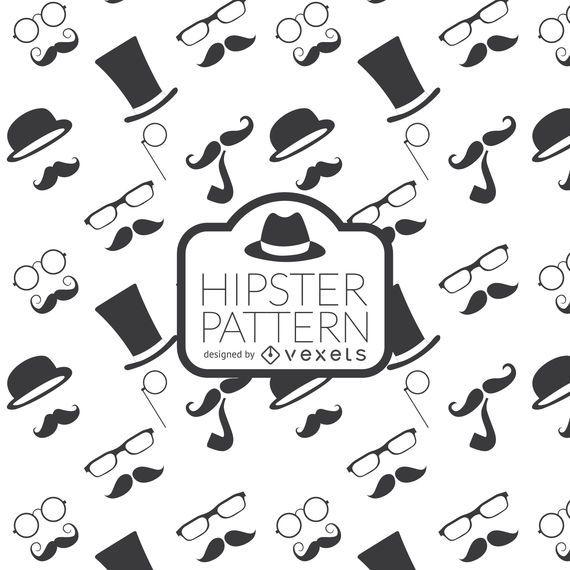 Fundo do elemento Hipster