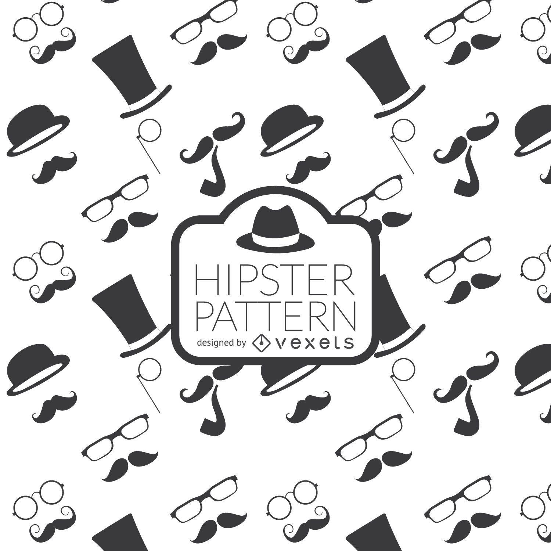 Fondo de elemento hipster
