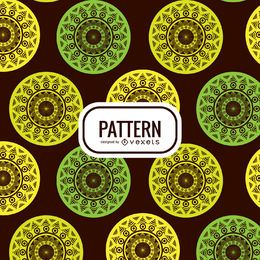 Mandala nahtlose Muster Hintergrund