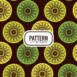 Mandala seamless pattern background