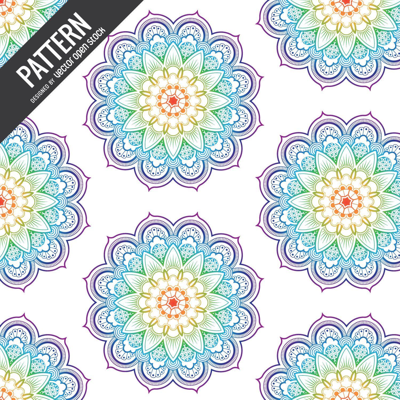 Telón de fondo de patrón de arco iris