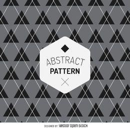 Geometric tartan pattern