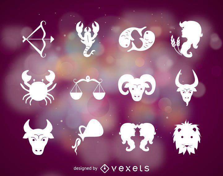Símbolos do sinal do zodíaco
