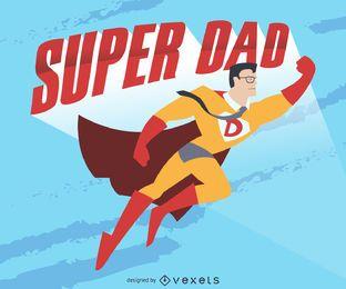 Dibujo de papá estupendo