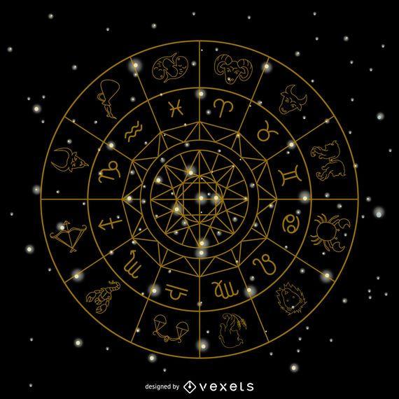 Zodiac signs symbols