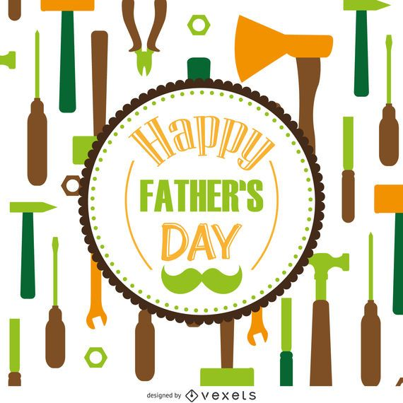 Tools pattern Father's Day
