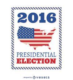 Quadro Eleitoral Presidencial de 2016 dos EUA