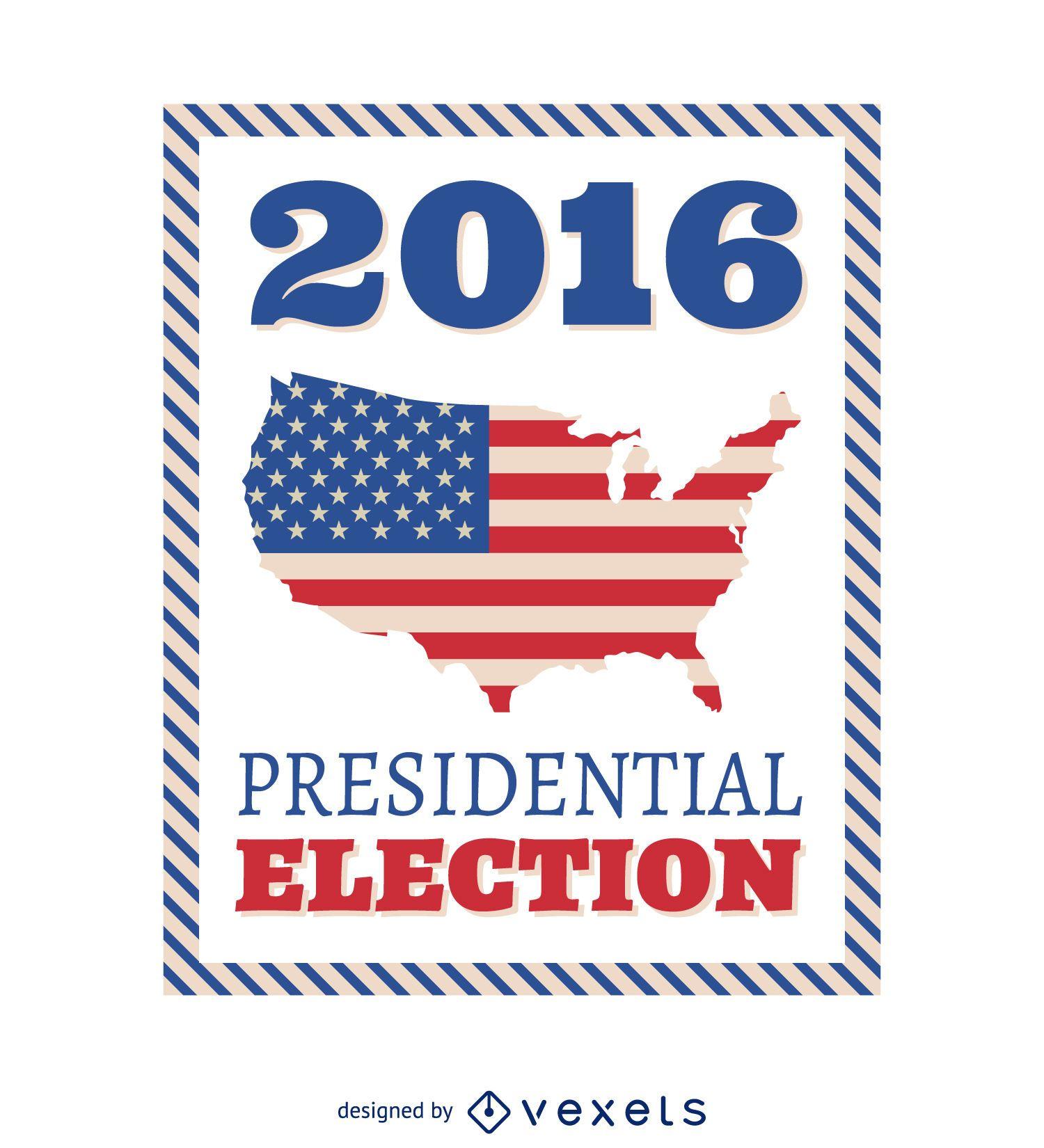 Marco de las elecciones presidenciales de EE. UU. De 2016