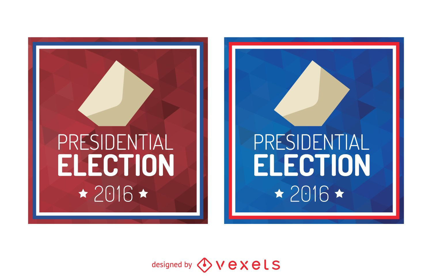 2016 presidential election sign vector download