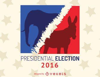 2016 sinal de eleição dos EUA