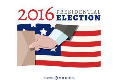 bandeira de voto 2016 eleição