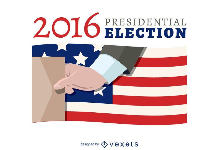 Banner de votação eleitoral de 2016