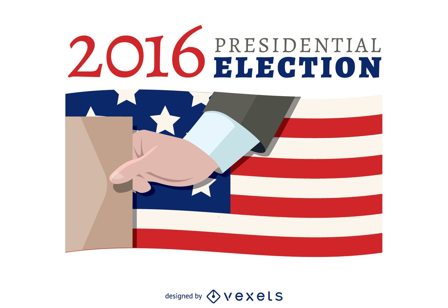 2016 election voting banner