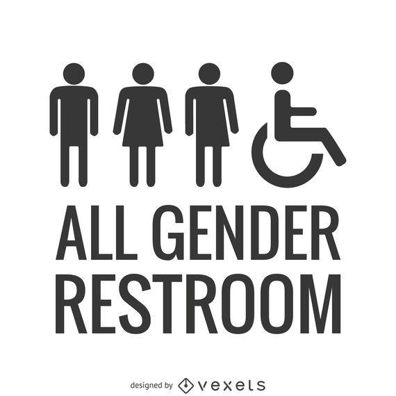 LGBT all gender restroom