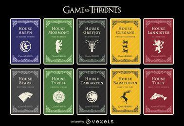 Casas de Game of Thrones