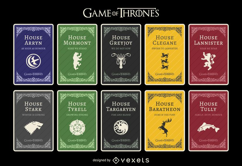 Casas de Game of Thrones