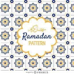Arabisches Ramadan-Muster